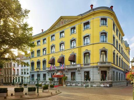 Slapen in het luxe Hotel Des Indes in Den Haag