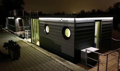 Bijzondere Overnachting Origineel Overnachten Slapen op de Tiny Hanzeboat met uitzicht op Zwolle6