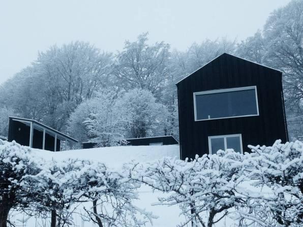 Bijzondere Overnachting Origineel Overnachten huisje met houtkachel en uitzicht Ardennen1