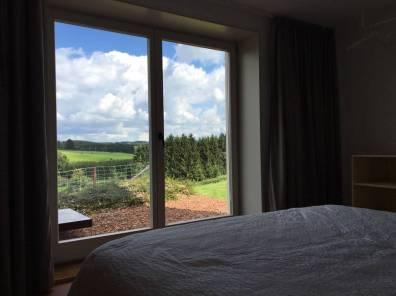 Bijzondere Overnachting Origineel Overnachten huisje met houtkachel en uitzicht Ardennen16