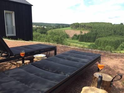 Bijzondere Overnachting Origineel Overnachten huisje met houtkachel en uitzicht Ardennen7