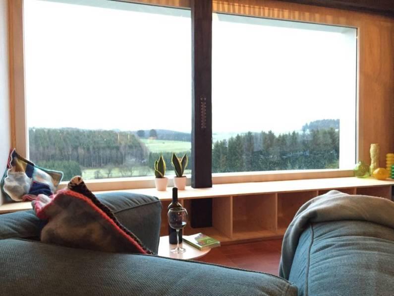 Bijzondere Overnachting Origineel Overnachten huisje met houtkachel en uitzicht Ardennen8