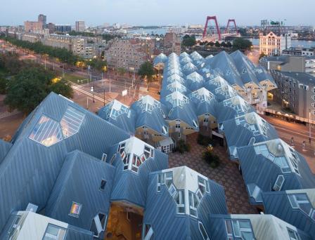 Bijzondere overnachting Origineel Overnachten Slapen in een kubuswoning in Rotterdam 1