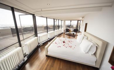 Bijzondere overnachting Romantisch overnachten in de Euromast te Rotterdam 12