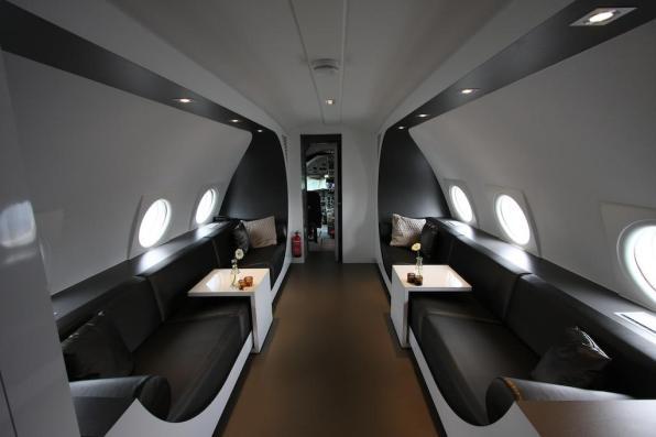 Bijzondere Overnachting Origineel Overnachten Slapen in een vliegtuigsuite op vliegveld Teuge4