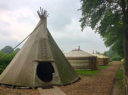 Origineel overnachten in een tipi tent4