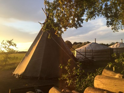 Origineel overnachten in een tipi tent8