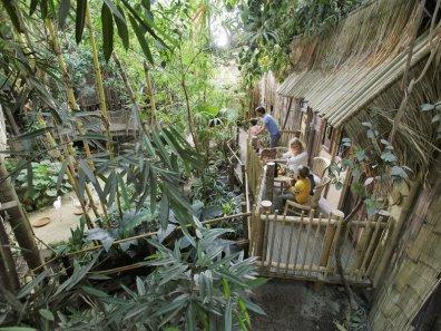Bijzondere Overnachting Origineel Overnachten Slapen in de Jungle Cabana van Center Parcs Het Heijderbos 5