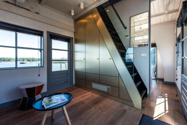Bijzondere Overnachting Origineel Overnachten Slapen in het Yays Crane appartement in Amsterdam 6