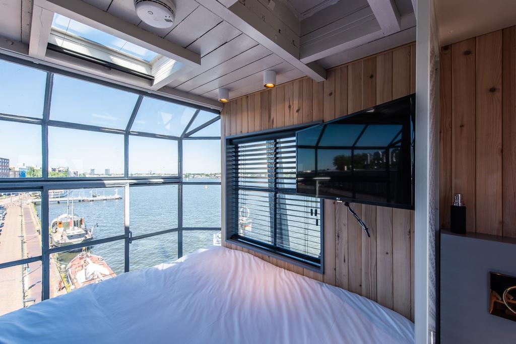 Slapen in het Yays Crane appartement in Amsterdam