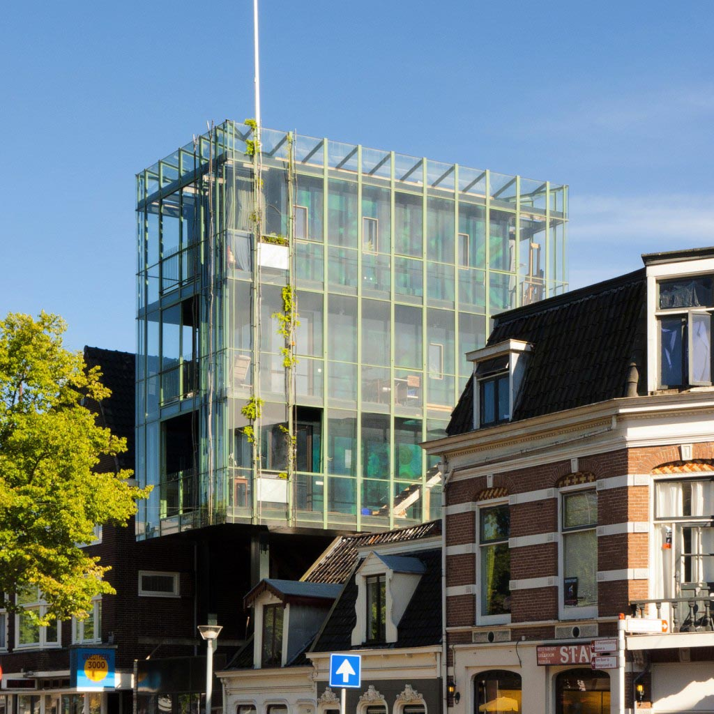 Slapen op grote hoogte in Groningen