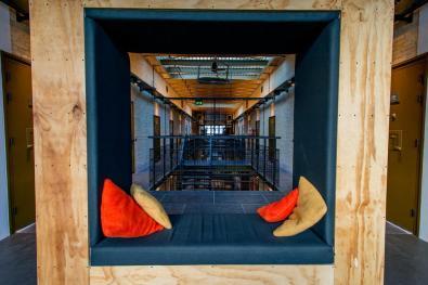 Bijzondere Overnachting Origineel Overnachten Voormalig gevangenis Alibi Hostel in Leeuwarden 10