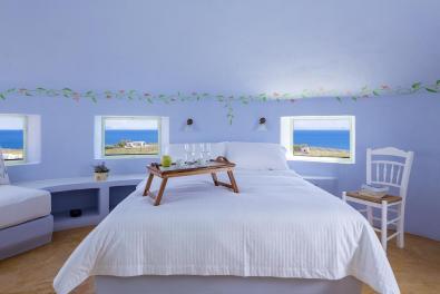 Vakantie windmolen villa Santorini Griekenland 16