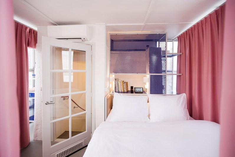 Slapen in brugwachtershuisje Amsterdam 12