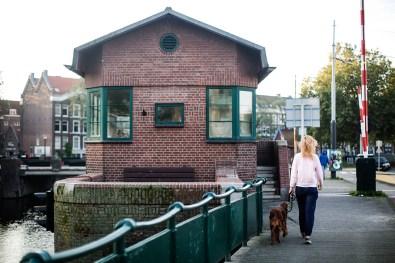 Slapen in brugwachtershuisje Amsterdam 19