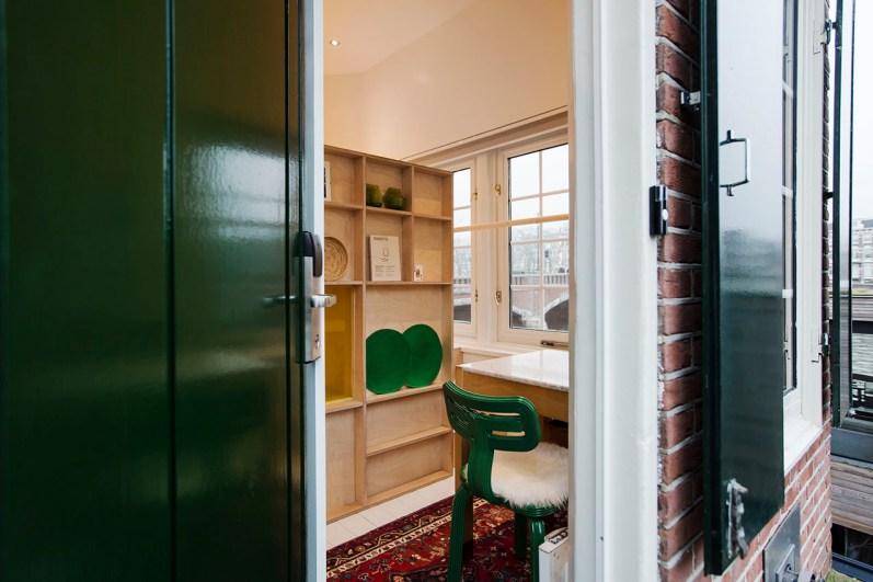 Slapen in brugwachtershuisje Amsterdam 20