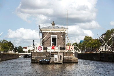 Slapen in brugwachtershuisje Amsterdam 7