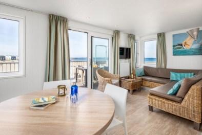 Slapen in een strandhuisje Zeeland Roompot Beach Resort Kamperland 8