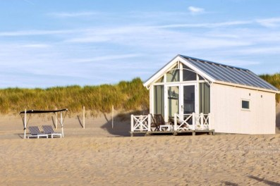 Slapen in Haags strandhuisje in Roompot Kijkduin 11