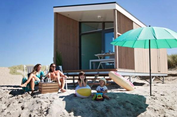 Slapen in Haags strandhuisje in Roompot Kijkduin 7