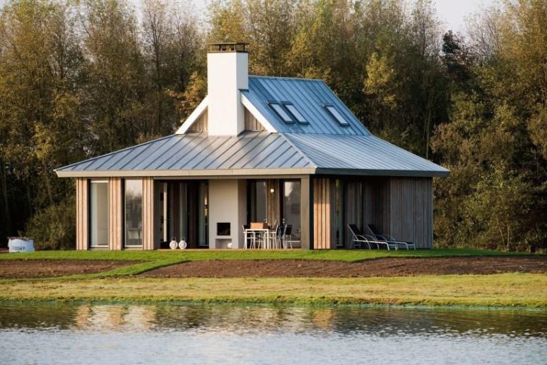 Slapen in Piet Boon watervilla Oesterdam in Tholen Zeeland 12