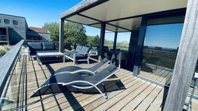 Luxe villa direct aan het strand van Ouddorp Oasis Parc Punt West huisje huren Concert at Sea 21