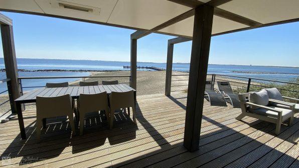Luxe villa direct aan het strand van Ouddorp Oasis Parc Punt West huisje huren Concert at Sea 5
