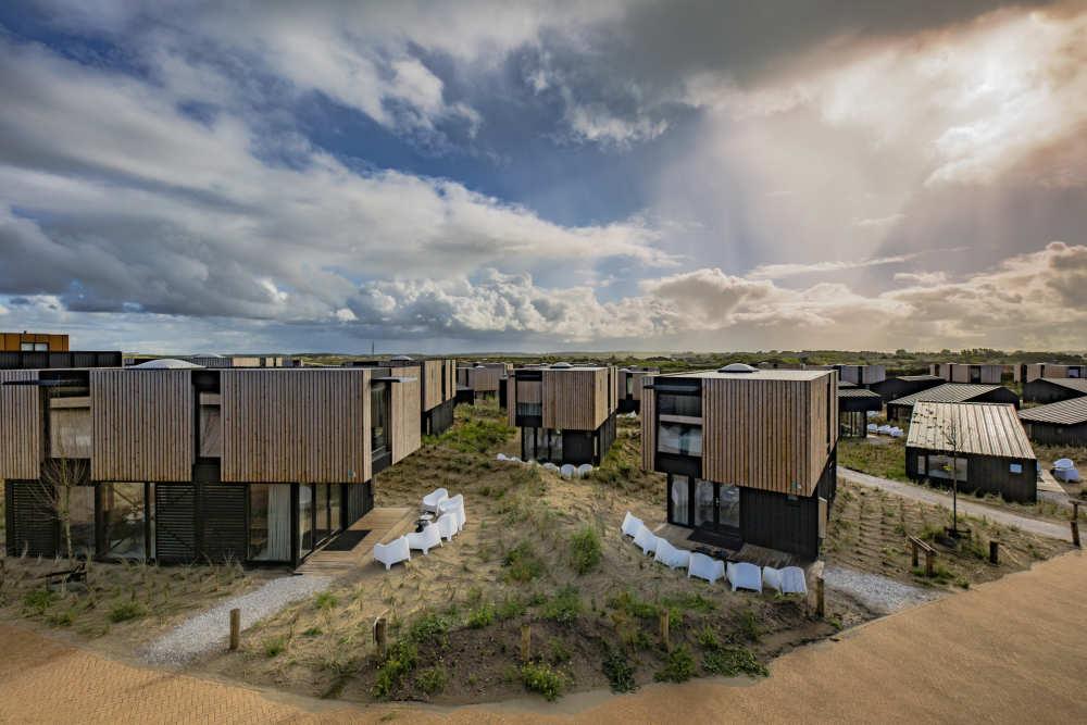 Strandhuisje in de duinen van Zandvoort