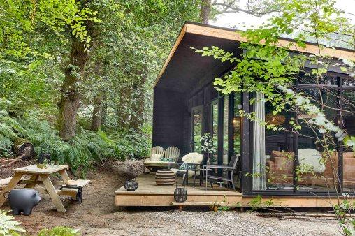 Forest Cabins van Buitenplaats Beekhuizen Slapen in het bos 6