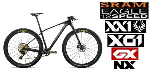 10 Bicicletas MTB Carbono con Sram Eagle de 12 Velocidades