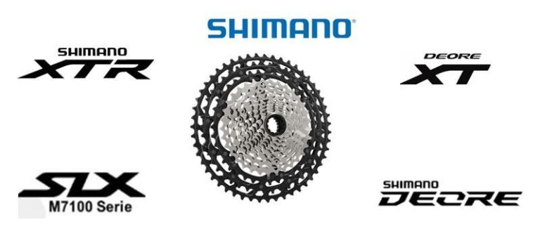 Casette Shimano 12 velocidades (XTR, XT, SLX y Deore)