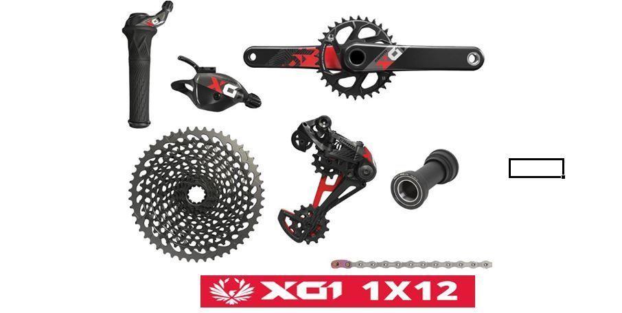 Grupo Sram X01 Eagle 12 velocidades