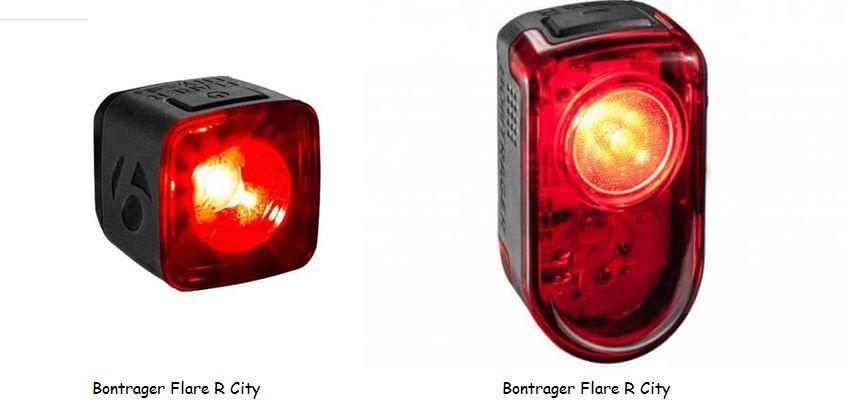 Luz trasera Bontrager Flare RT Recargable USB. Precio: 65€