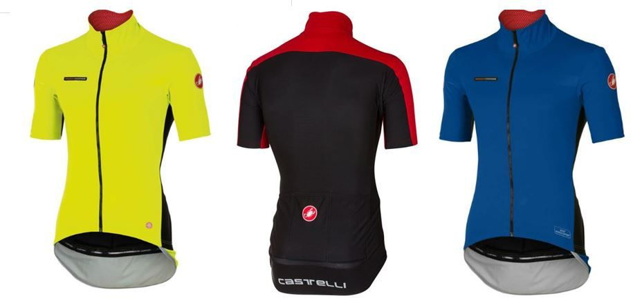 Maillot Castelli Perfetto Light Windstopper - Manga corta | Manga larga
