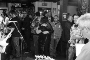New Year and Rocking Horse at the Bike'N'Hound - Photos by Tobias Alexander/Grey Trilby