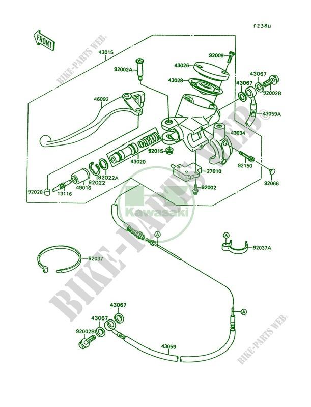 Kawasaki Vulcan 1500 Parts Diagram