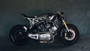 Cafe'd Smoker – 1972 Yamaha R5 Custom – Bike-urious
