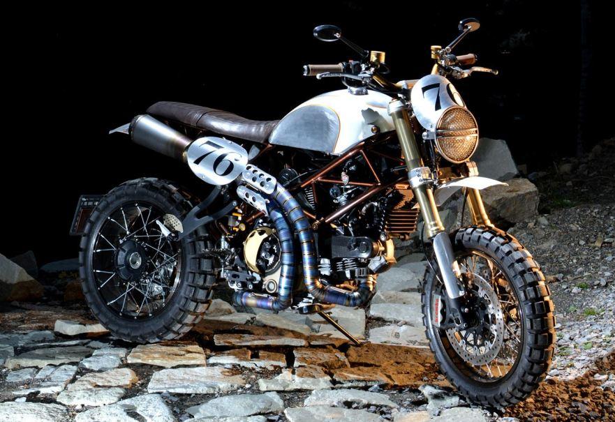 Hyperscrambler 1100 R 2010 Ducati Hypermotard 1100 S Custom