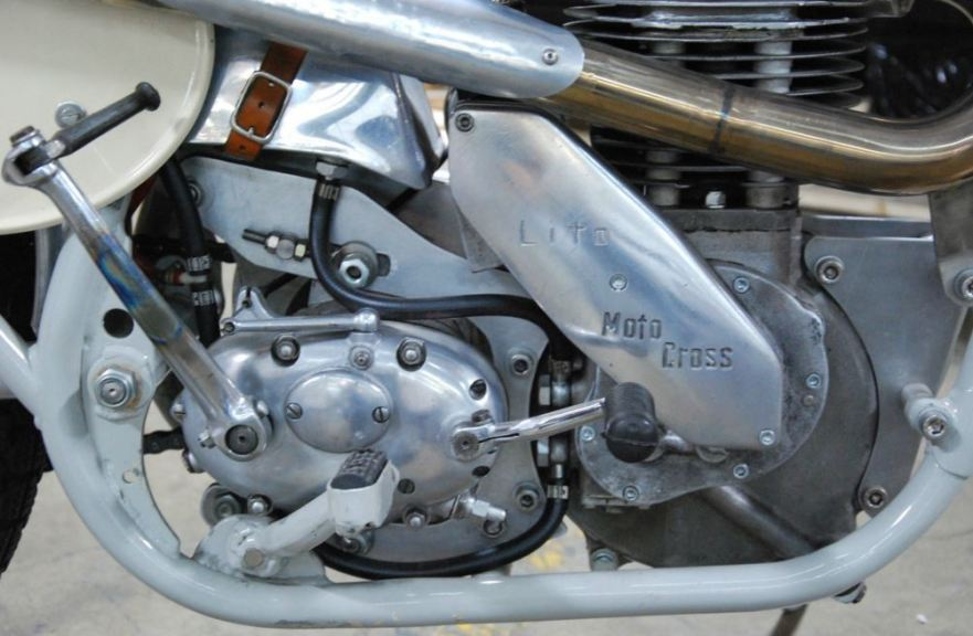 1962 Lito 500cc MX - Engine