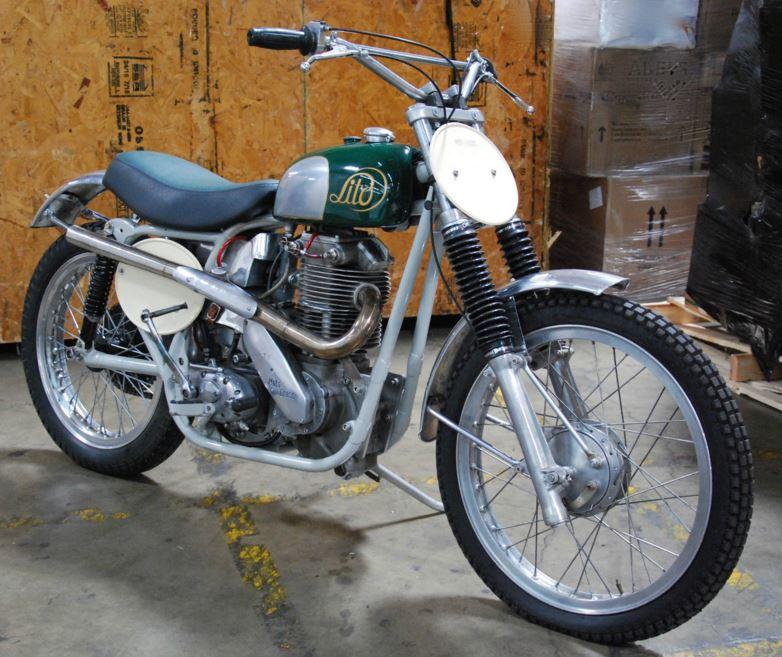 1962 Lito 500cc MX - Front Right
