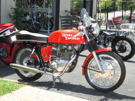 1965 Royal Enfield Continental GT - Right Side