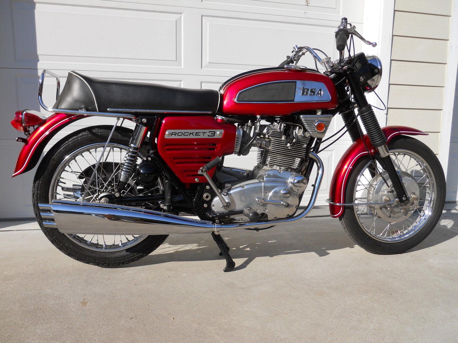 1969 Bsa Rocket 3 Bike Urious