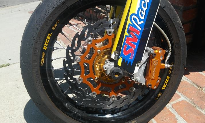 2006 Suzuki RMZ450 Supermoto - Front Wheel