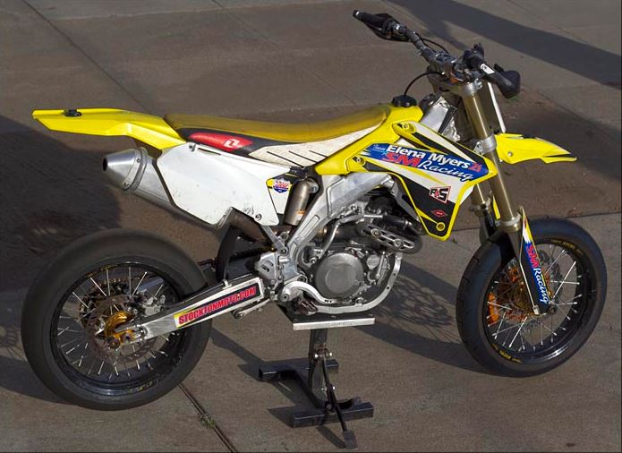 2006 Suzuki RMZ450 Supermoto - Right Side