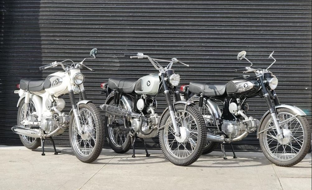 Ending Soon - 3 Tiny Restored Hondas