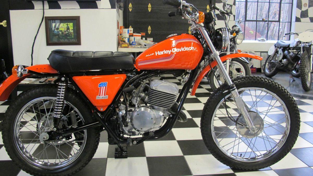Ending Soon 1975 Amf Harley Davidson Sx 250 Bike Urious