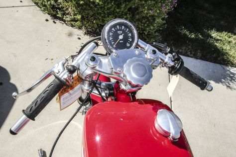 Aermacchi 350 Sprint Road Racer - Gauges