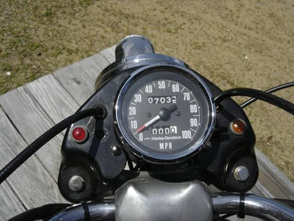 Aermacchi Harley-Davidson 350 Sprint - Gauges