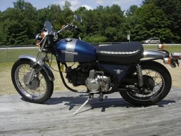1973 Aermacchi Harley-Davidson 350 Sprint – Bike-urious