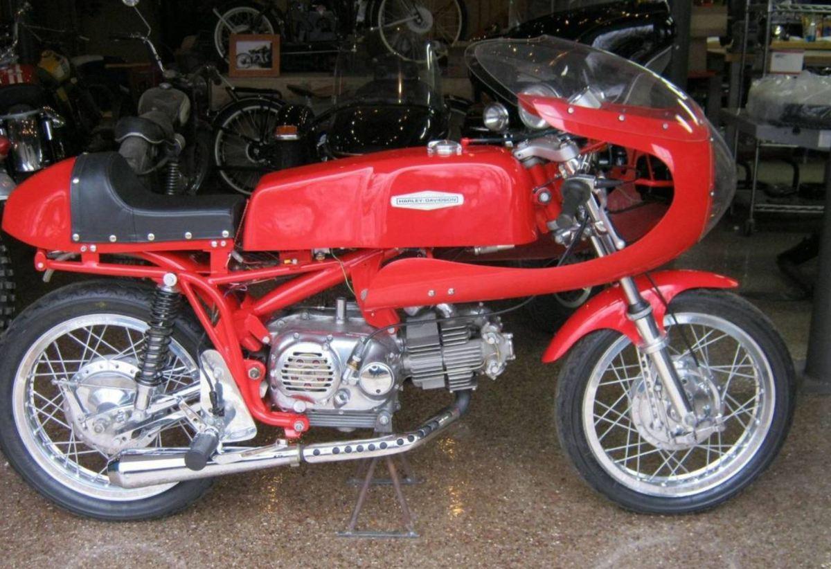 CRTT Tribute - 1973 Aermacchi Sprint 350 Racer